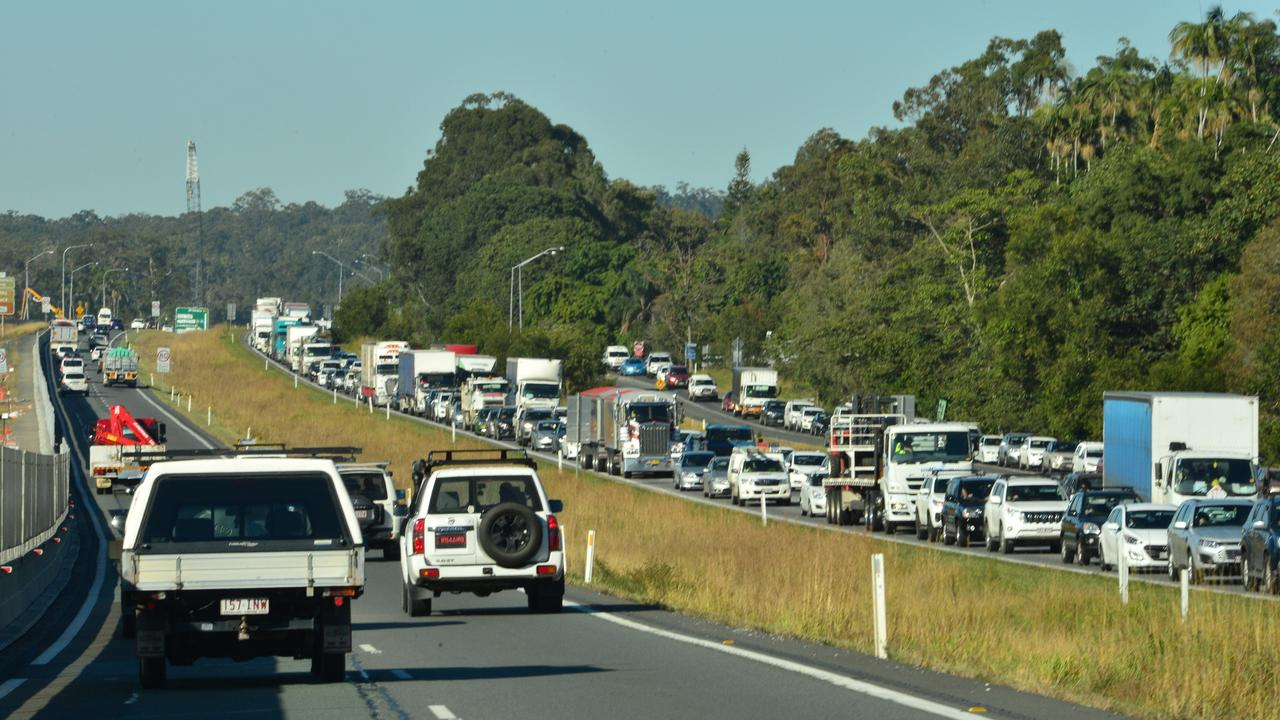 CORRIDOR CONGESTION: Sunshine Coast Council has opposed State Government's proposal to build a new arterial road to supplement Bruce Highway. Photo: John McCutcheon.