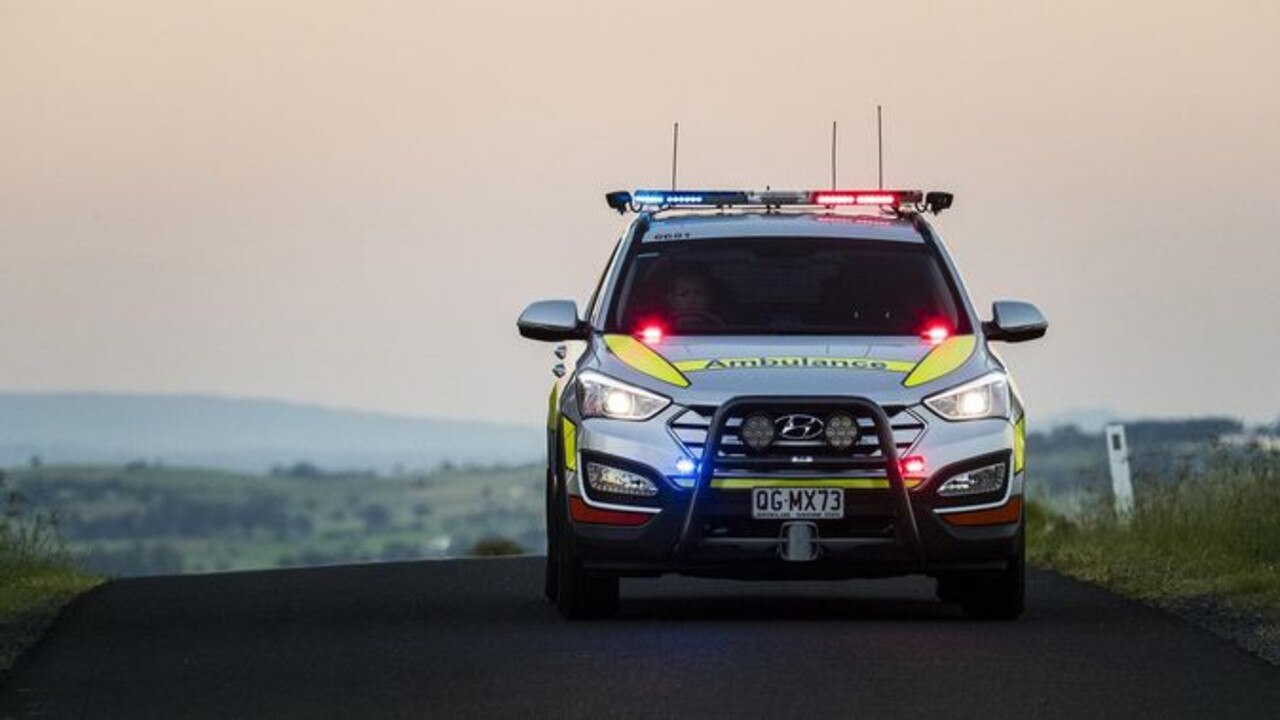 VEHICLE ROLLOVER: Paramedics have treated an adult female and toddler after a single vehicle rollover near Coorada.