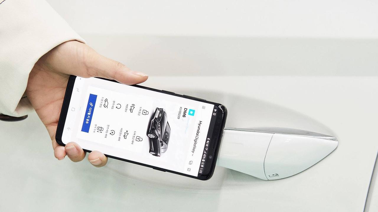 Hyundai's digital key will make car sharing easier.