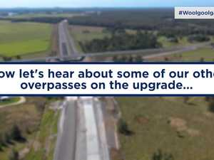 New overpasses for Pacific Highway