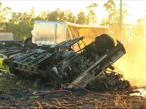 Truck crash driver fronts Millmerran court