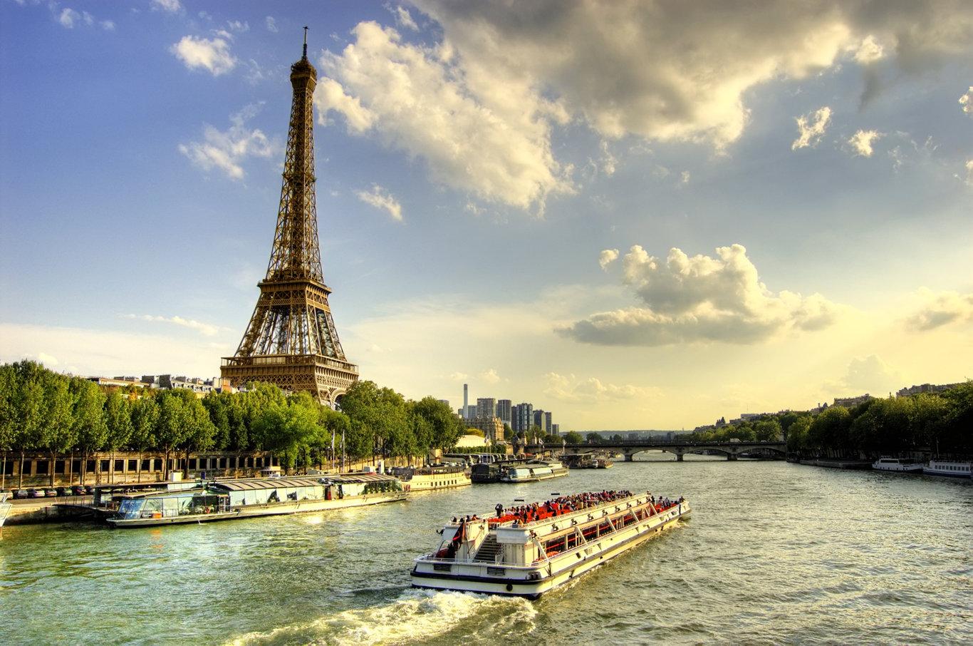 Cruise the Seine through France.
