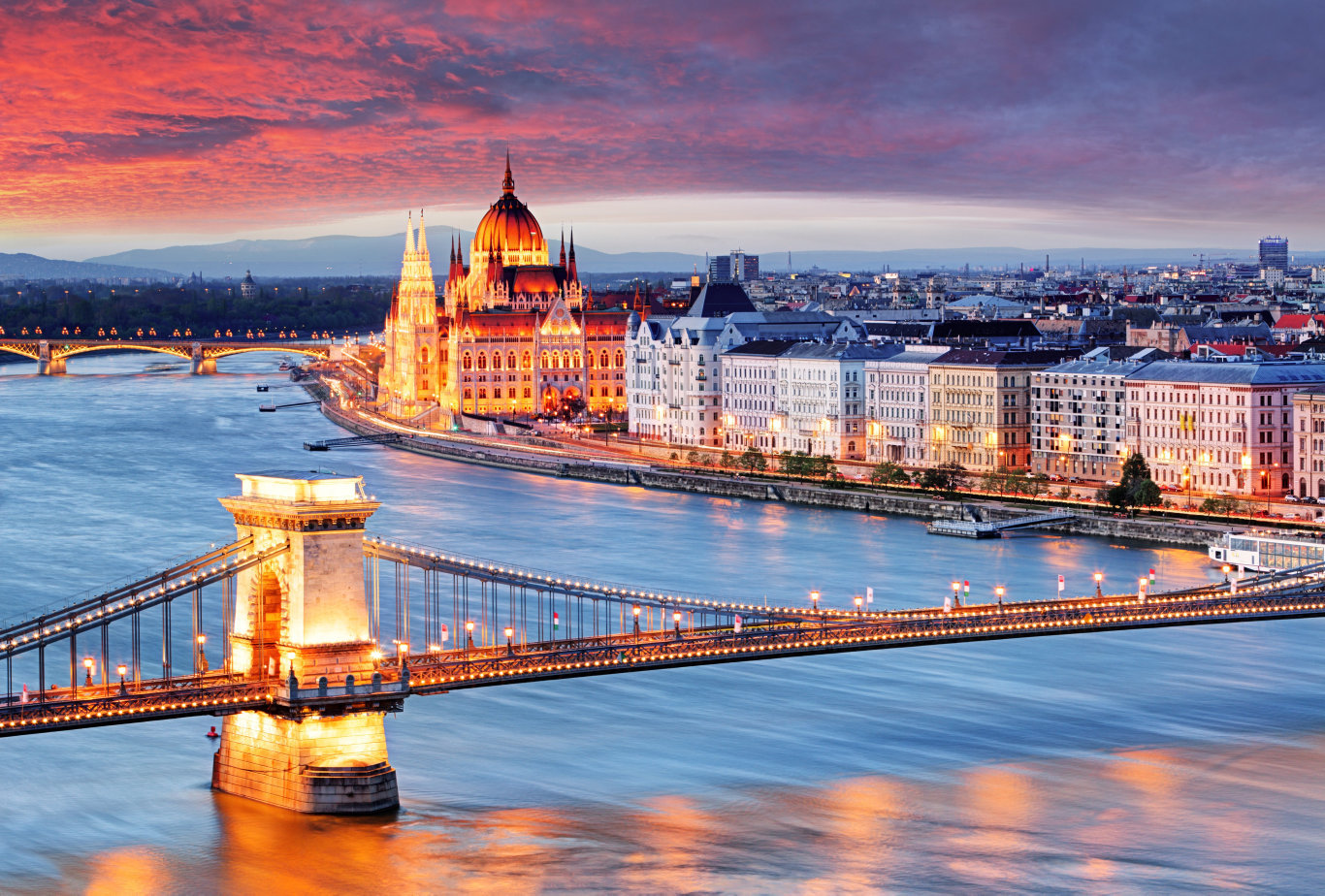 See Budapest from the river for a magical experience.