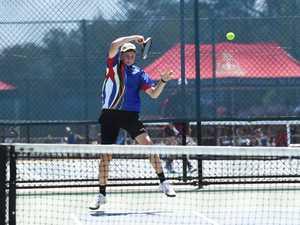Tennis: Biloela State High School's Matthew