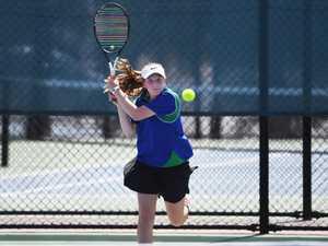 Tennis: TCC's Isabella Cooper.