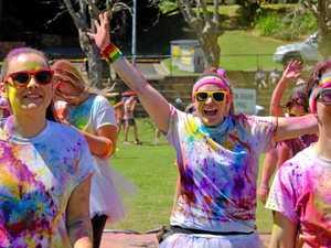 Popular colour run a bright idea to support community