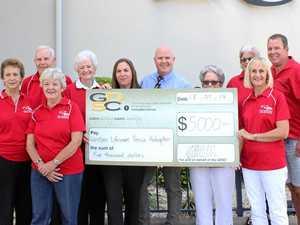 Donations benefit community groups