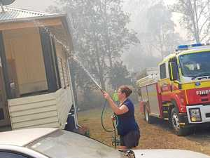 BREAKING: House under threat from bushfire in Mary Valley
