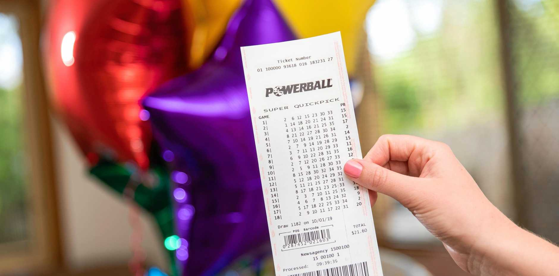Are you Ipswich's newest millionaire? A third division winner from last night's Powerball is local and won $50 million.