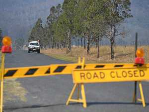 The changes to Bruxner Highway now reopened after fires