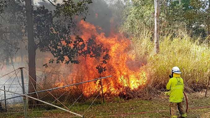 UPDATE: Fireys downgrade alert for Imbil fire