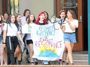 Grafton students strike for climate action