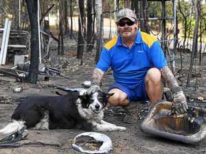 'Fireball' trashes man's Gympie home as bush ignites