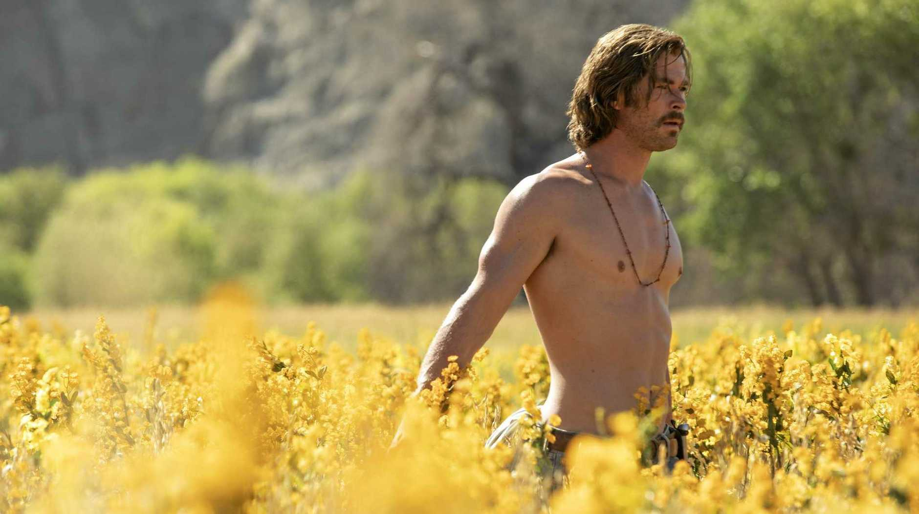 NATURE-LOVER: Chris Hemsworth in a scene from the movie Bad Times at The El Royale.