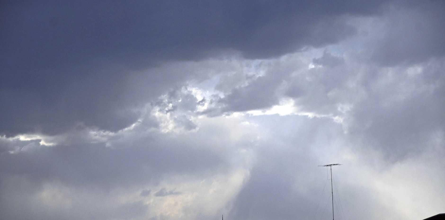 CLOUDY DAYS AHEAD: Watch for rain.