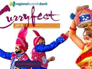 What's happening at Curryfest in Woolgoolga this year?
