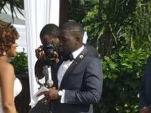 Optical illusion of bride baffles internet