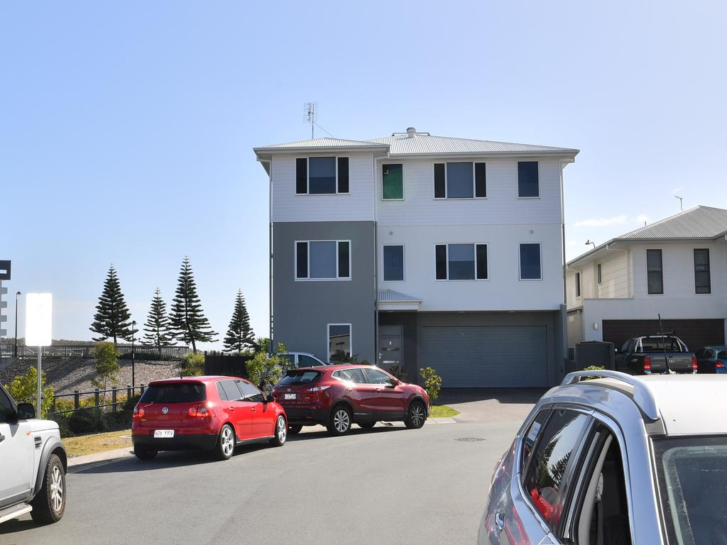 Use of the three-storey Birtinya home is the subject of Planning and Environment Court action. Photo: John McCutcheon / Sunshine Coast Daily