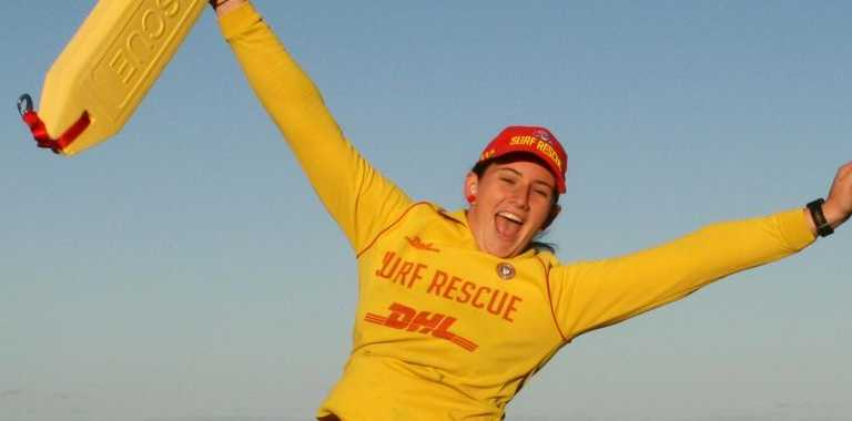 Mackay surf lifesaver Macey Ronald.