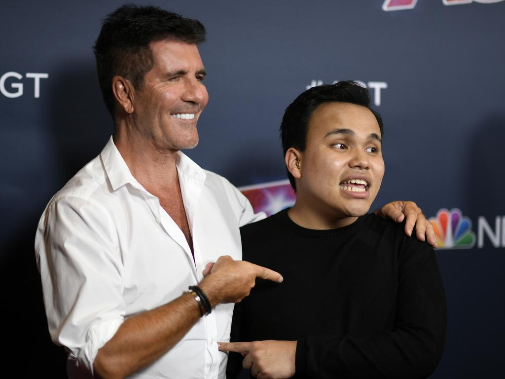 By the end of Kodi's first performance, judge Simon Cowell was already a fan. 'Your voice is absolutely fantastic. You have a really beautiful tone, and thank you so much for trusting us on this show,' he told the young star. Picture: Frazer Harrison/Getty Images.