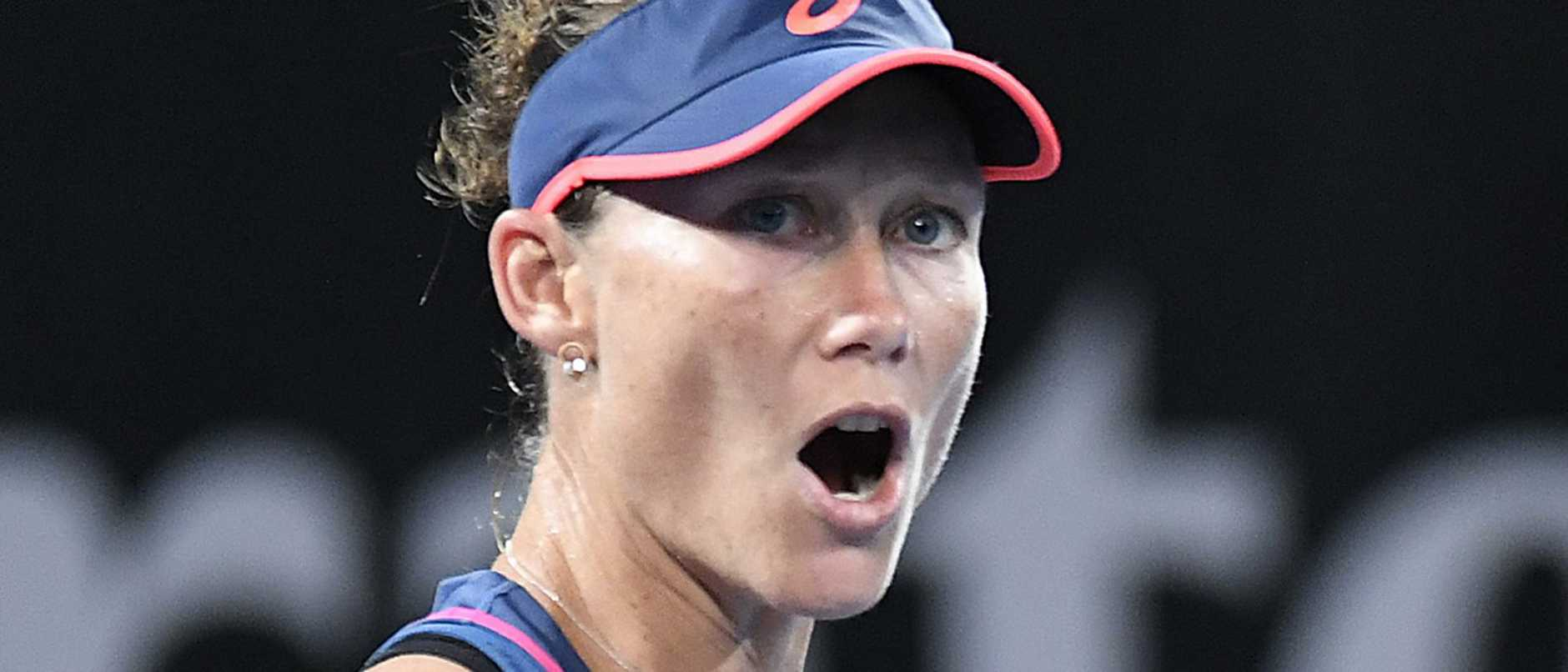 Sam Stosur has been taking full advantage of her wildcard.