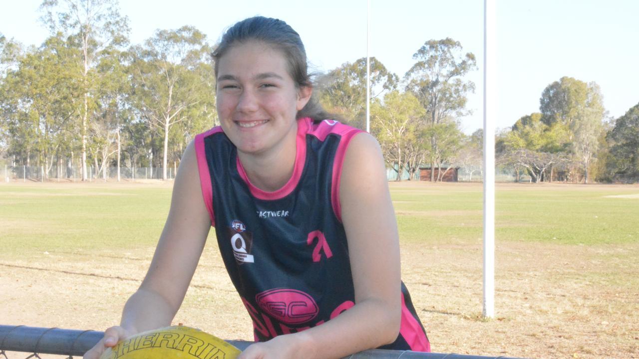 Sophie Ure looks forward to play in the under-17 Kookaburras team