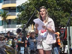 Sunshine Coast Schools Strike for Climate