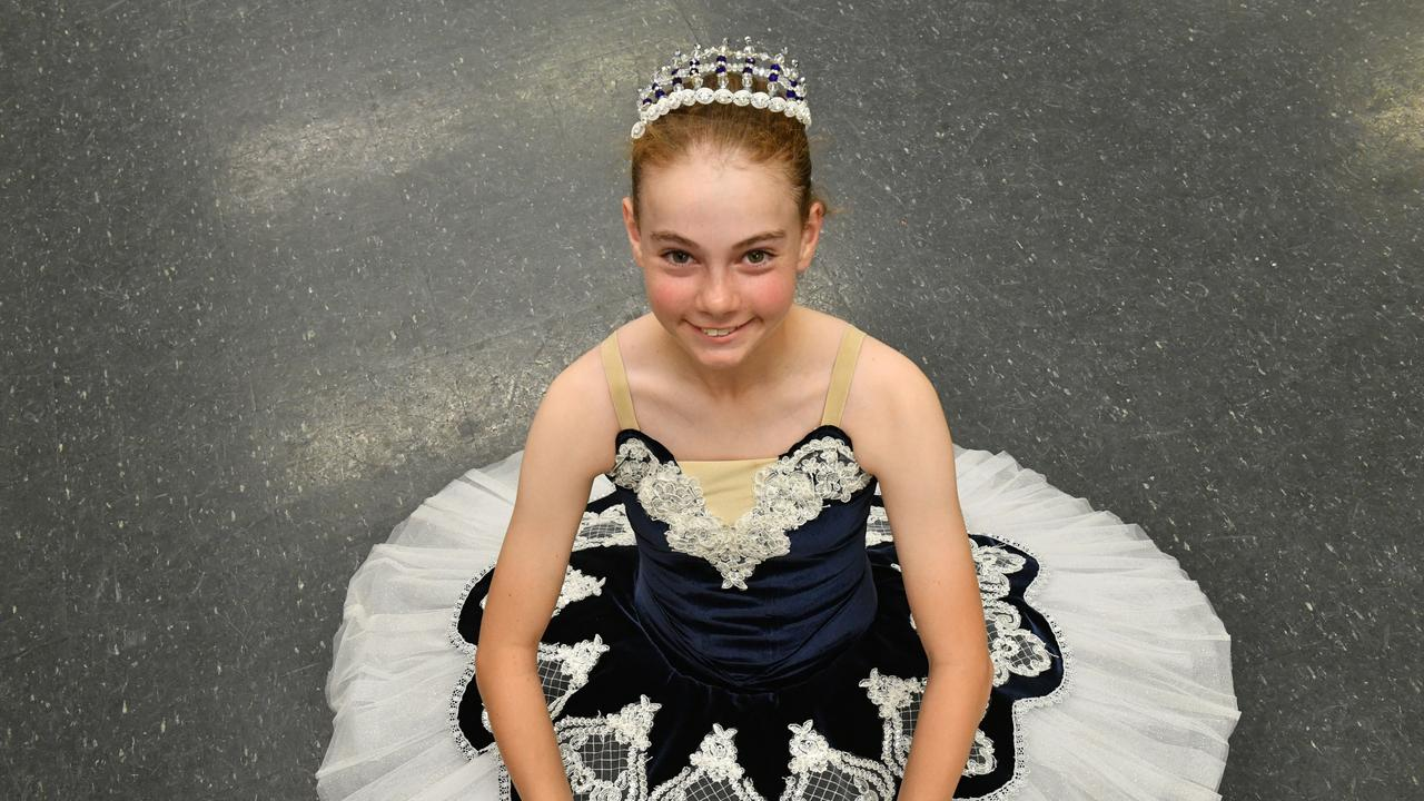 DANCE FEVER: Molly Hall is preparing for this year's eisteddfod where her mother Tracey will also be competing.