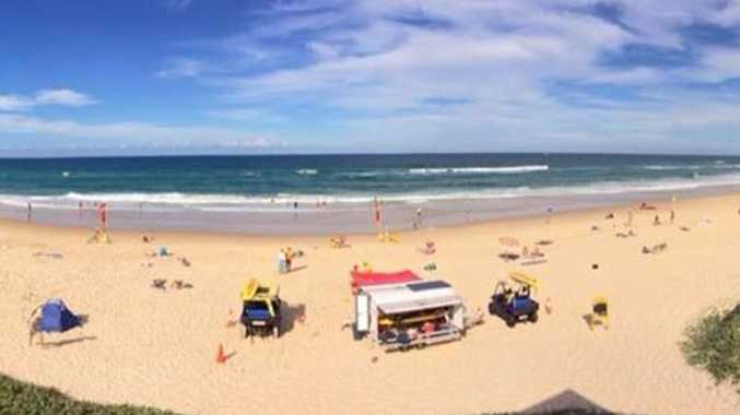 New trial for 'dumping' beach as lifesavers back on alert