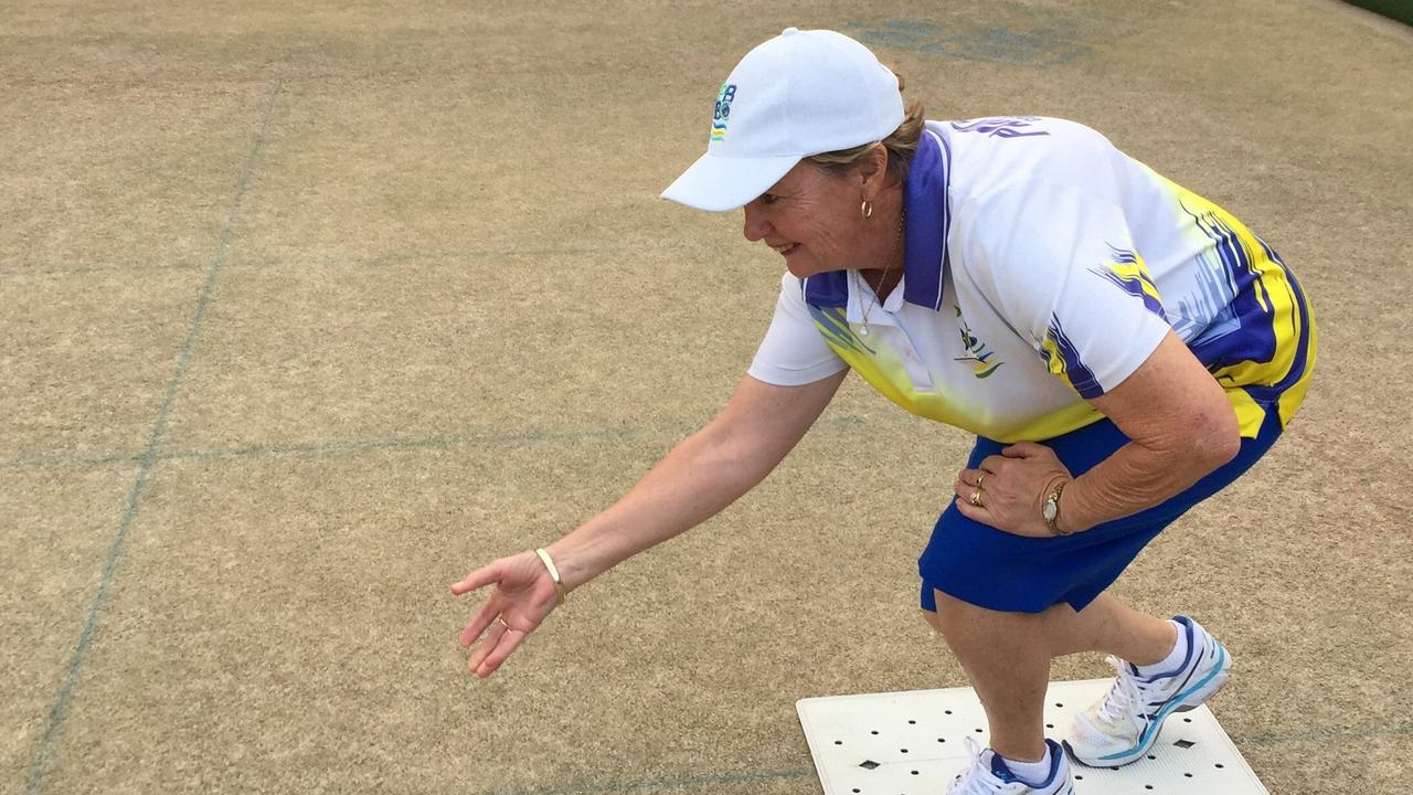 TOP FORM: Park Beach Bowls Club member Mandi Monck has been on fire in 2019.