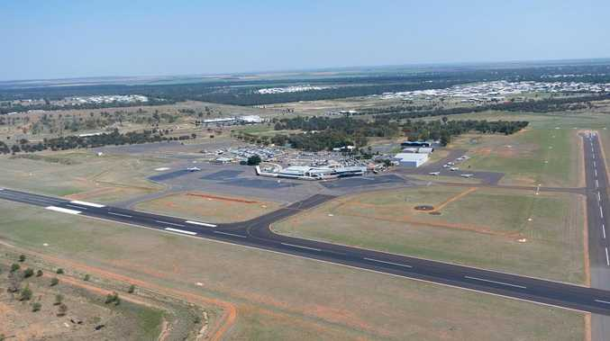 Emerald airport runway resurfacing project prepares for takeoff