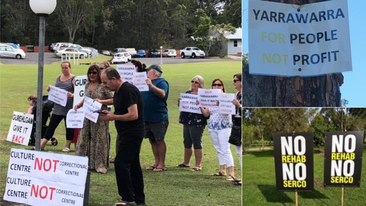 Action group members believe the soon to be defunct Grafton jail would be a better option for the Home Strait program.