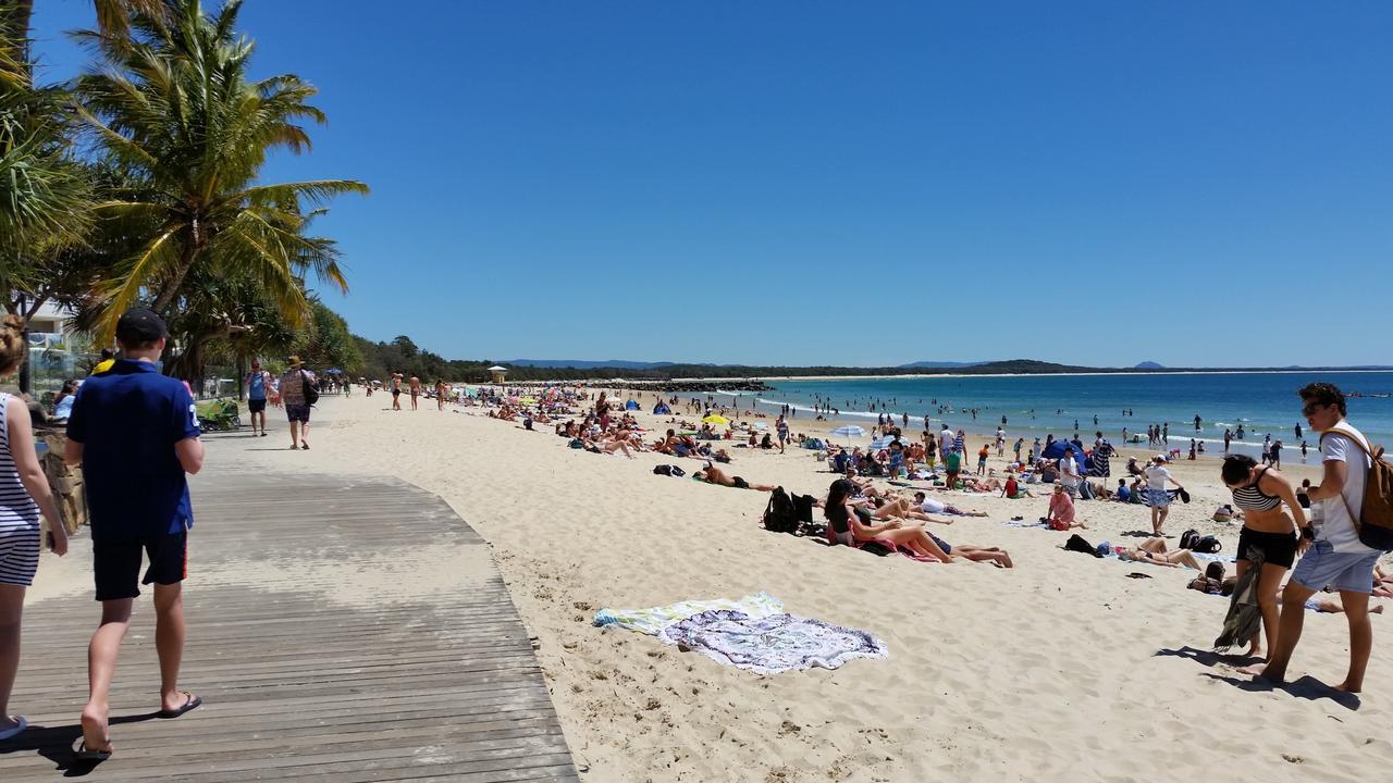 Noosa Main Beach.