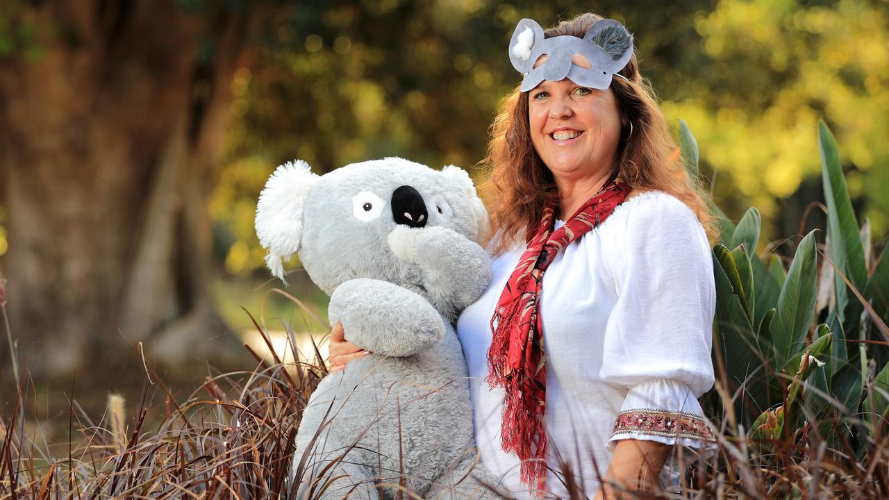 Jenny Hayes from Team Koala is promoting a community day at Pottsville on Sunday. Photo: SCOTT POWICK