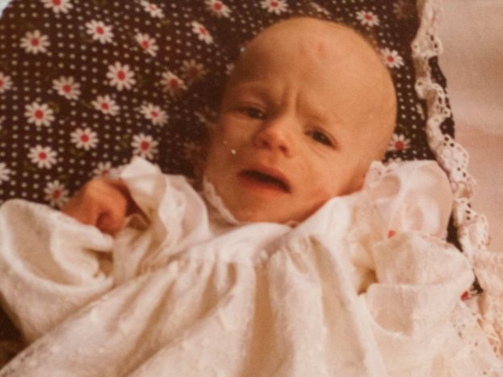 Baby Yoey was taken away from her mother as a baby. Picture: 7.30
