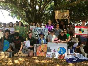 Young and old protest climate change inaction