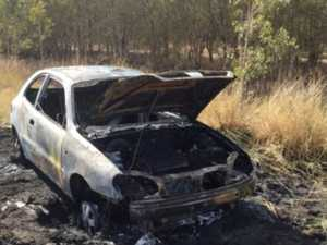 Police call for details after car found ablaze