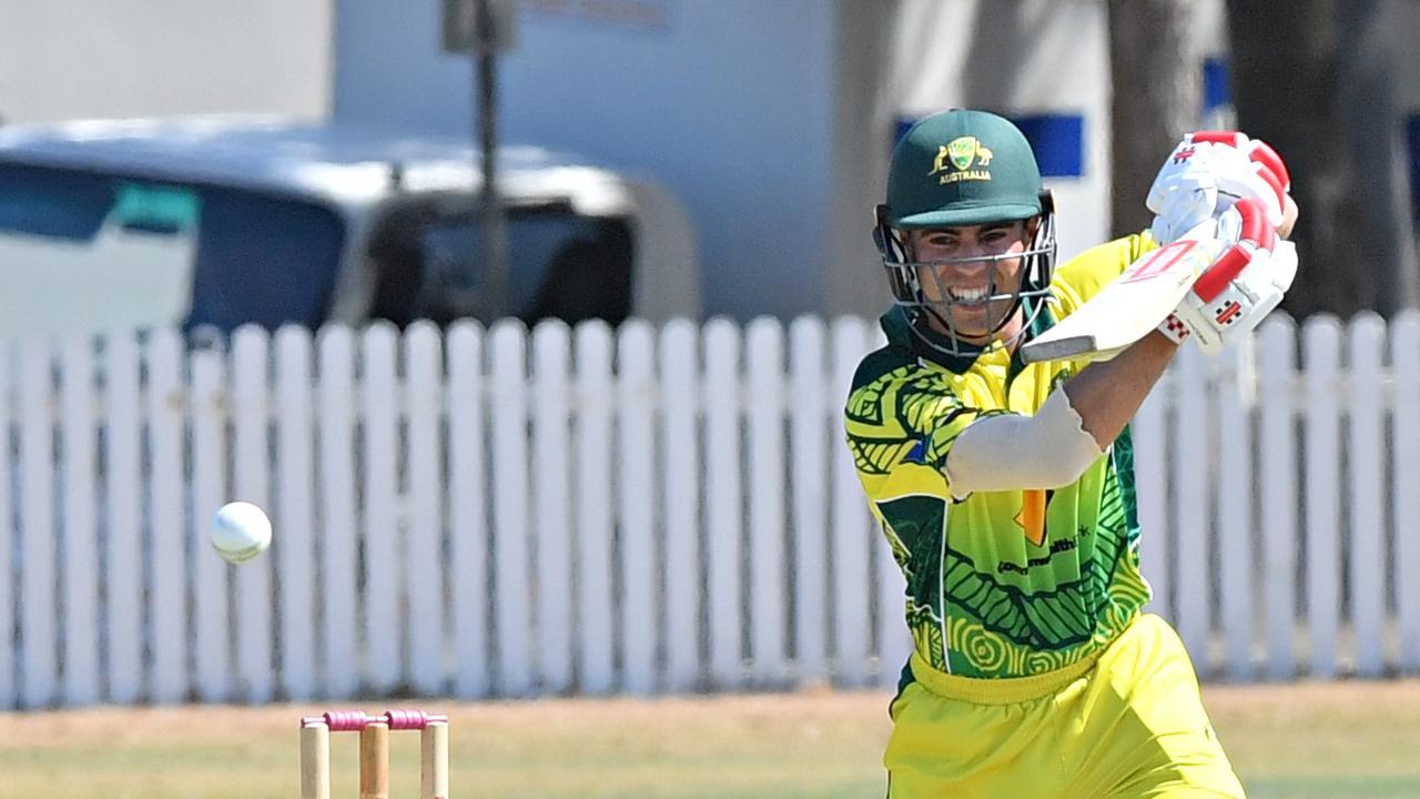 South Australian Redbacks v Australian Indigenous XI at Caloundra. Damon Egan. Photo: John McCutcheon / Sunshine Coast Daily