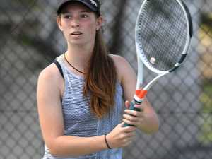 TENNIS: Chelsea May from Emerald at the Queensland