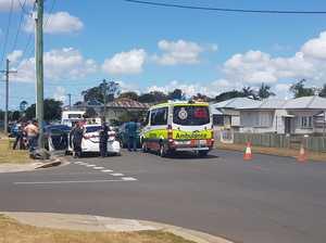 BREAKING: Crash closes Maryborough street