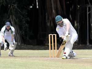 CRICKET: The Glen's Samuel Pitt bats