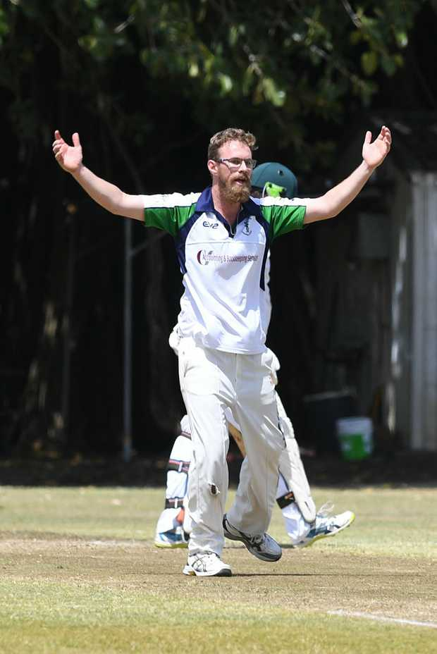 Image for sale: CRICKET: Rockhampton Brothers' Nathan Reid