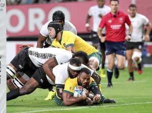 Wallabies survive Fiji World Cup fright