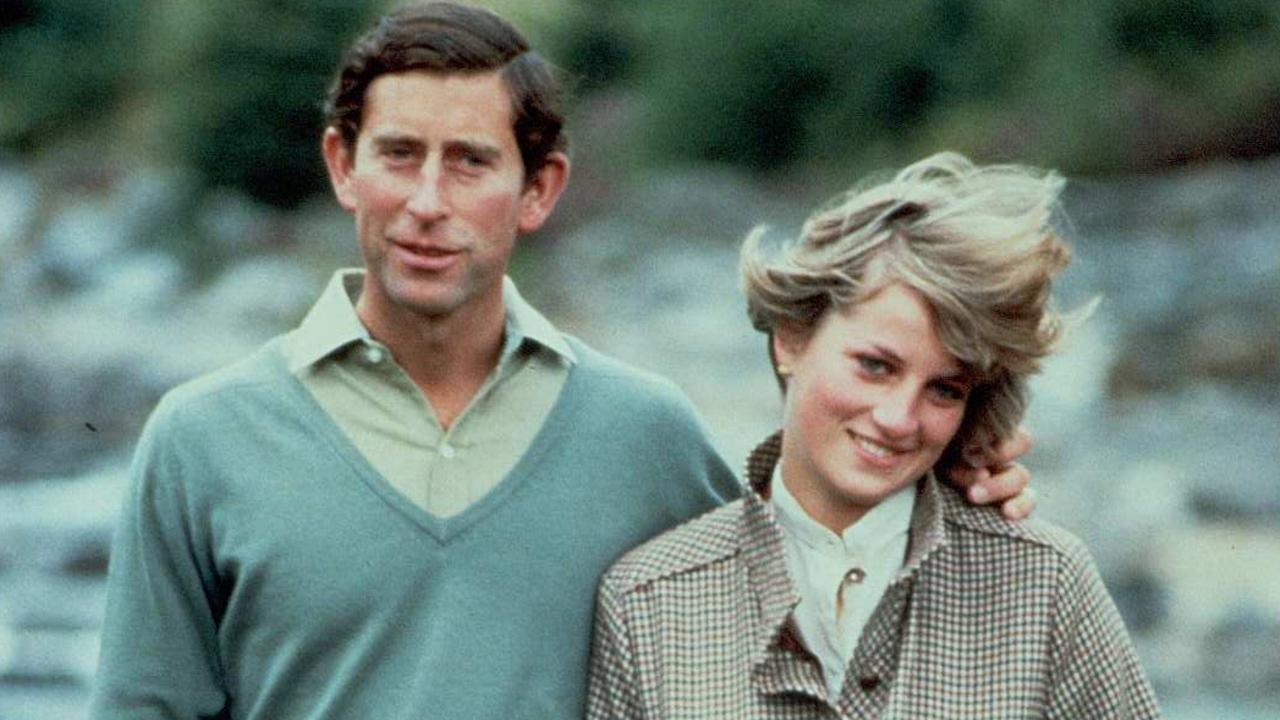 Prince Charles and Princess Diana on honeymoon in Balmoral, Scotland