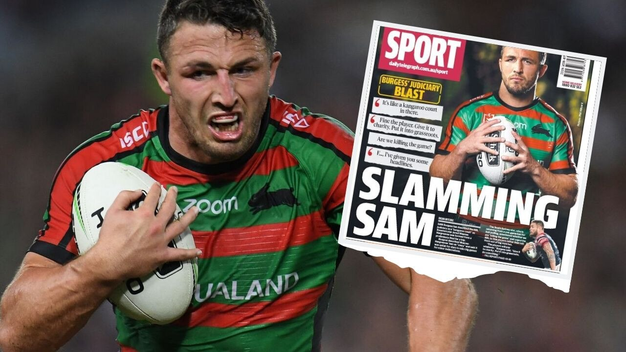 South Sydney apologised for Sam Burgess' forthright views.