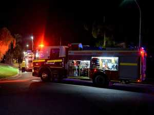 Four injured after fire rips through Carseldine house