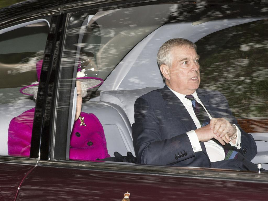 The Palace stands by Prince Andrew saying he knew nothing of the allegations against Jeffrey Epstein. Picture: Robert Perry/PA via AP