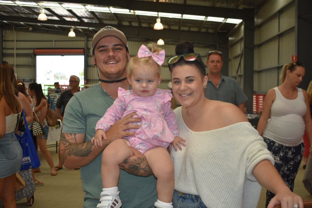 Image for sale: Babies and kids markets: Baylee Shaw, Armani Shaw, 16 months and Rachael Moore