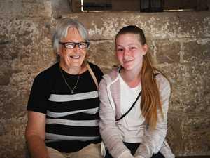 Maryborough Open House - Margaret Kobier and 12yo