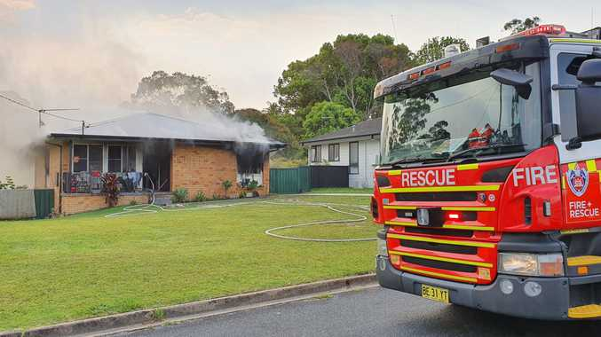 UPDATE: Man in police custody over Coffs Harbour house fire